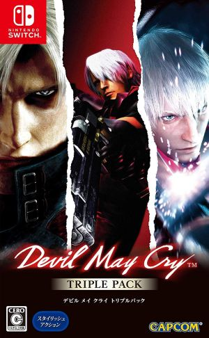(Switch)Devil May Cry Triple Pack